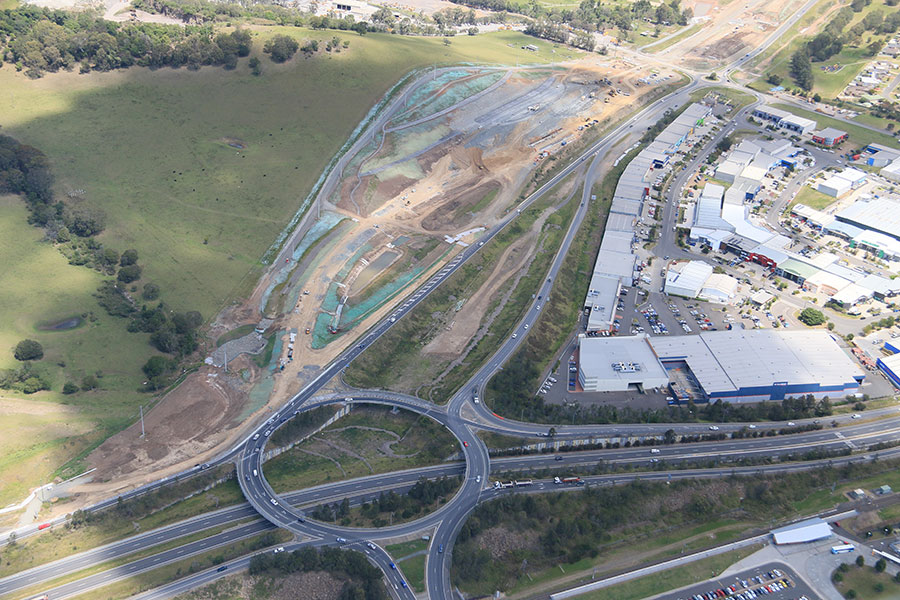 Oak Flats Interchange and East West Link