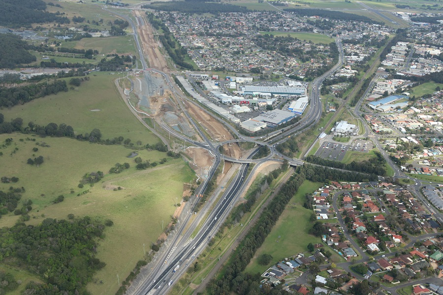 Oak Flats Interchange