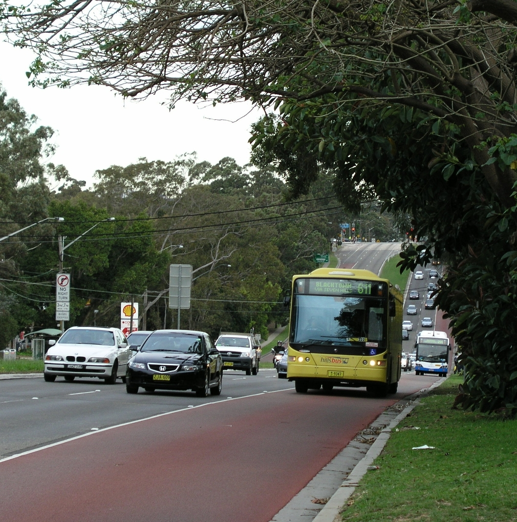 Epping Road bus lane