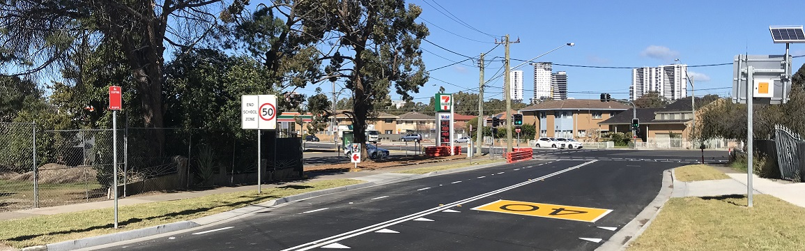 Elizabeth Drive and Marsden Road intersection in Liverpool