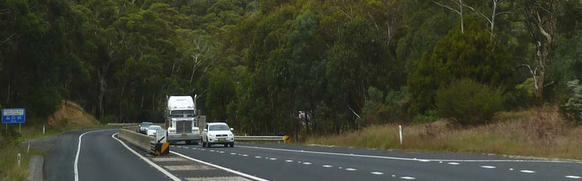Great Western Highway thru Forty bends.