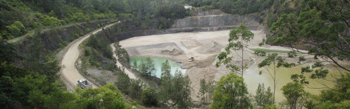 Hornsby Quarry now contains more than one million cubic metres of soil.