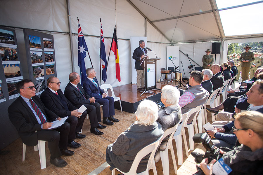 The Minister for Roads, Maritime and Freight's official opening address