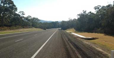 Kings Highway east of Shoalhaven River