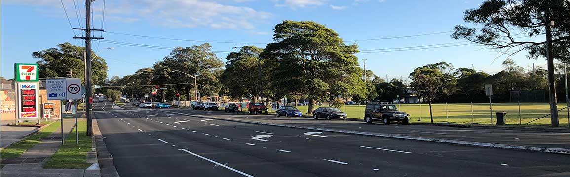 King Georges Road and Gannons Road intersection