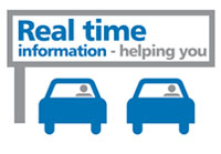 Real time information - helping you.