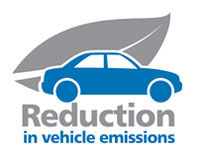 Reduction in vehicle emissions
