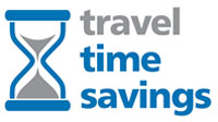 Travel time savings