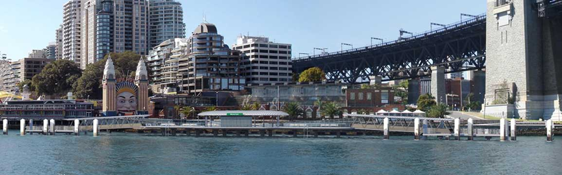Milsons Point wharf upgrade