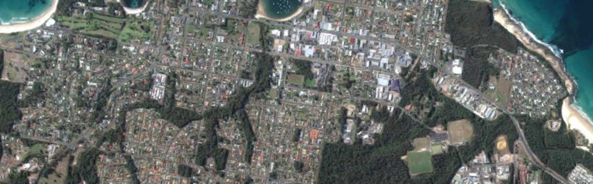 Aerial view of Milton and Ulladulla