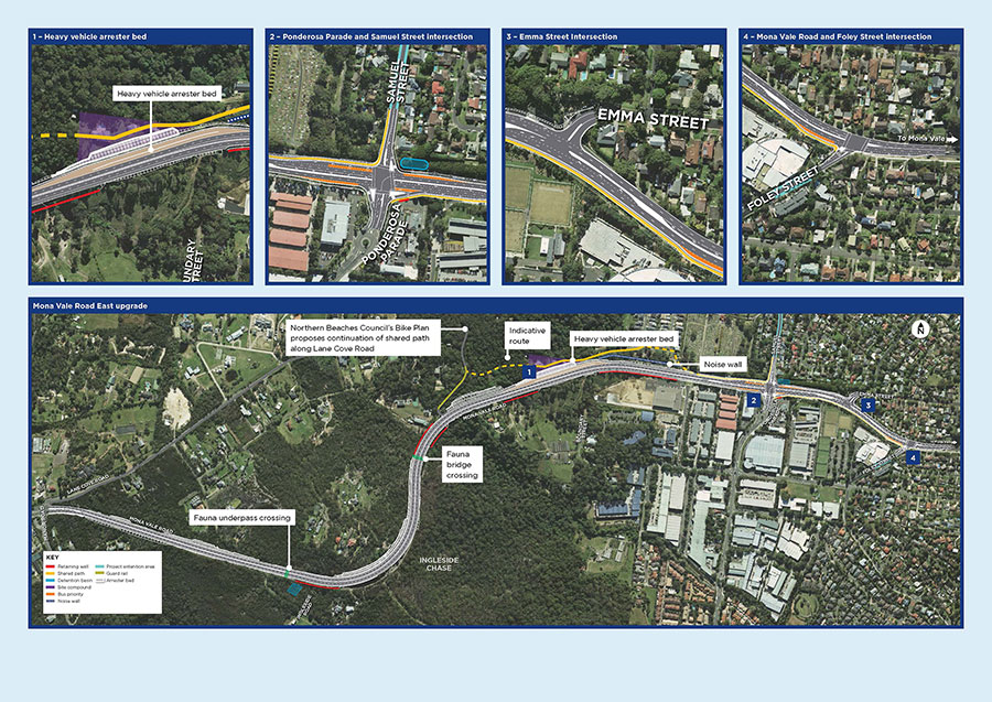 Mona Vale Road East upgrade overview