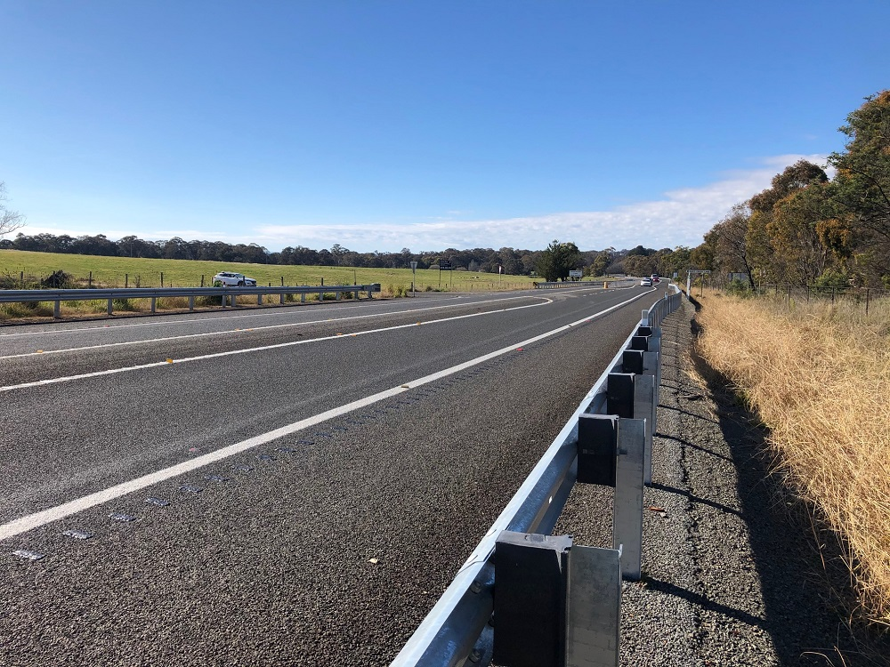 Rumble strips reduce the likelihood of vehicles departing their lane by up to 25%