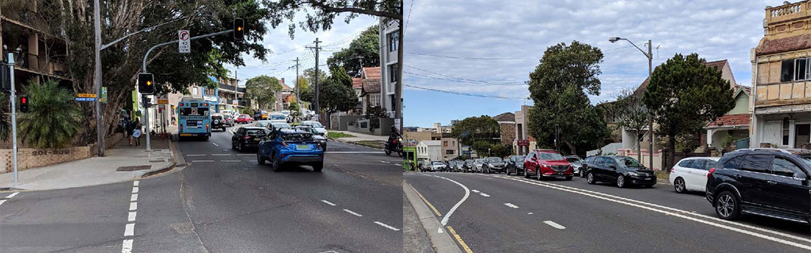 Congestion on Old South Head Road, Bondi