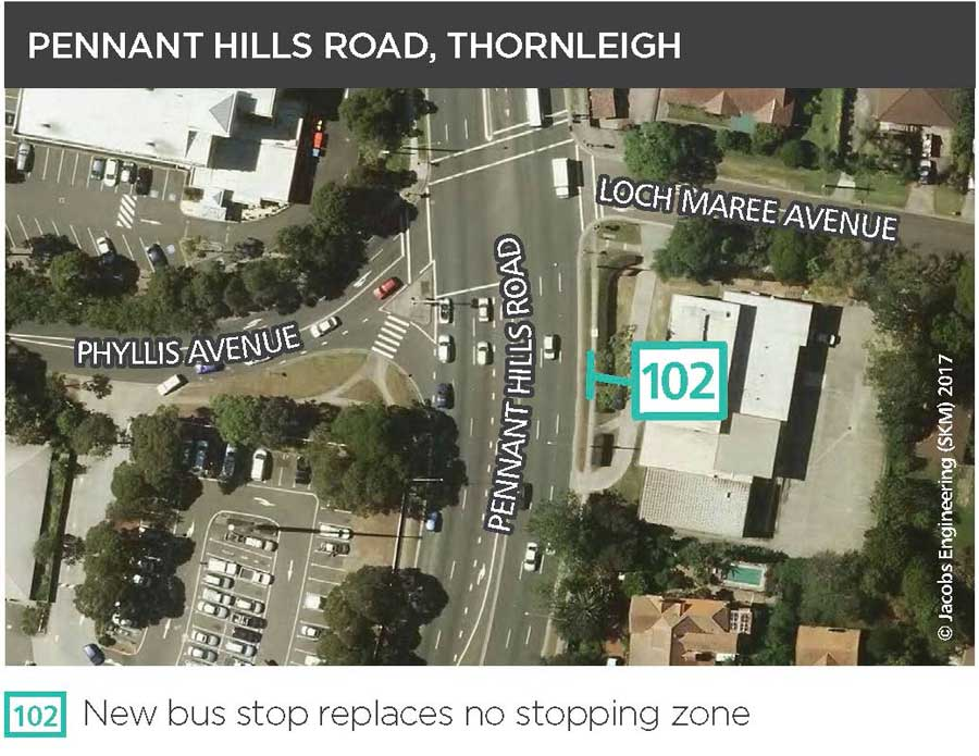 Pennant Hills Road, Thornleigh