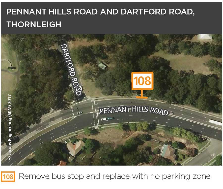 Pennant Hills Road and Dartford Road, Thornleigh