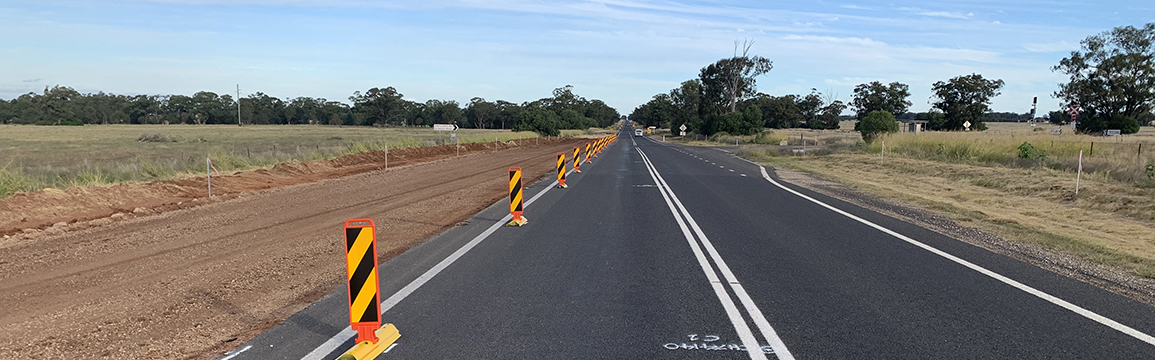 Kamilaroi Highway safety upgrade - Baan Baa to Turrawan