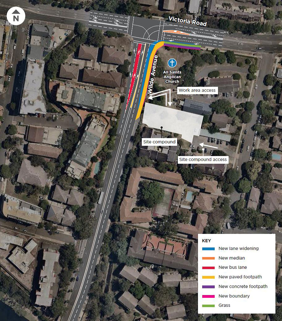 Overview image of Bus priority intersection improvements