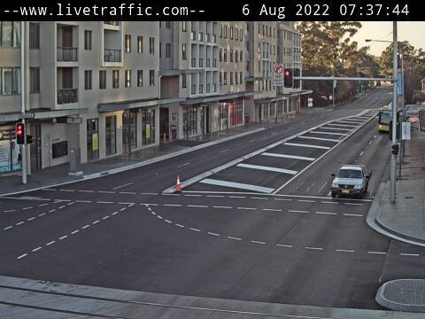 Webcam at Church Street and Victoria Road Parramatta