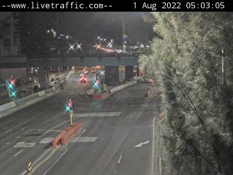 Traffic camera - City West Link