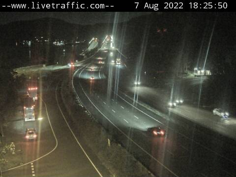 Hawkesbury River Bridge, Mooney Mooney - Looking South towards Sydney