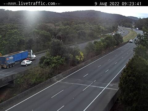 Ourimbah Onramp looking North Towards Newcastle