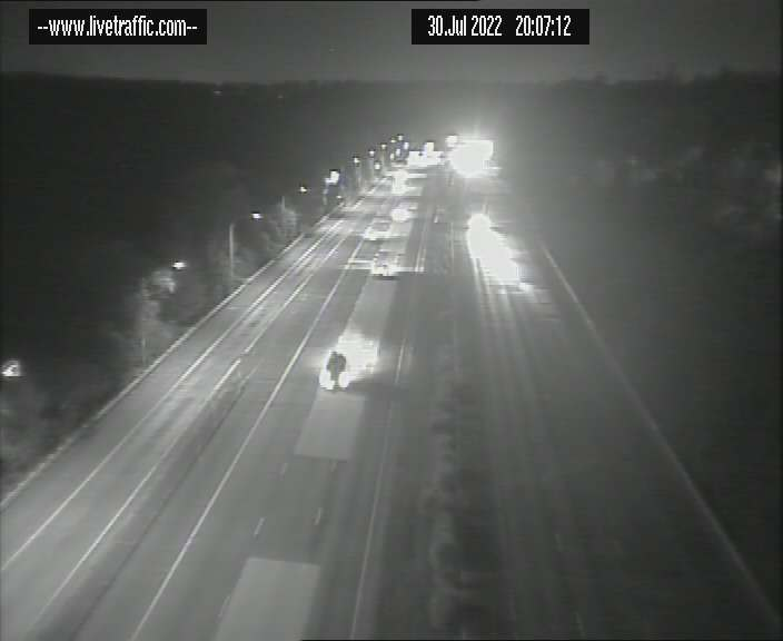 Windybanks Onramp, Looking South towards Sydney