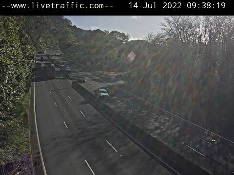 Webcam at M1 Princes Motorway at Mt Ousley Road Mount Ousley