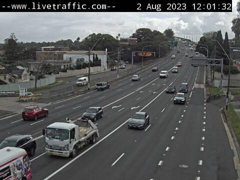 Webcam at Victoria Road at Gladesville Bridge Drummoyne