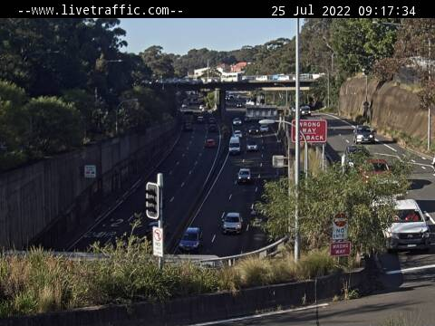 Gore Hill Freeway, NSW (South), NSW