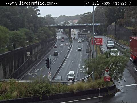 Gore Hill Freeway, NSW
