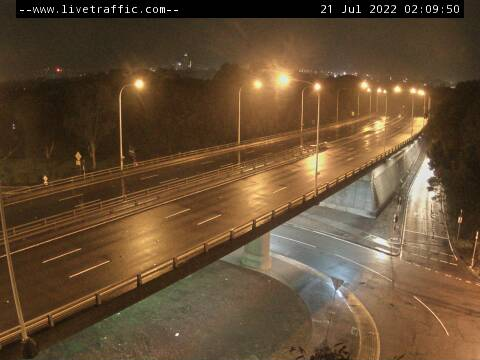 Webcam at Homebush Bay Drive at Underwood Road Homebush