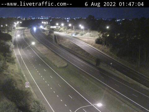 Webcam at Hume Highway and Narellan Road Campbelltown