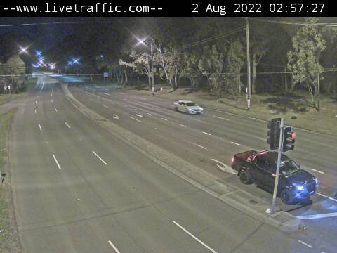 Webcam at Hume Highway and Woodville Road Villawood