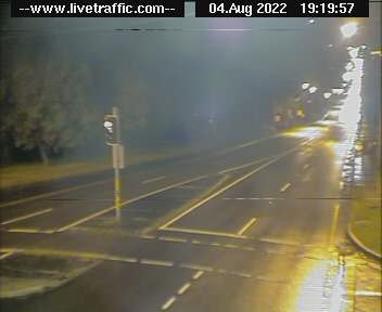 King Georges Road at Woniora Road