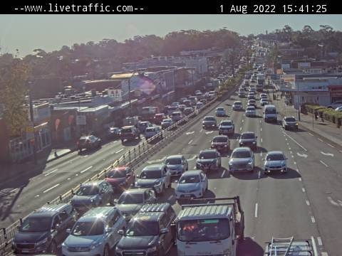 Webcam at King Georges Road and Stoney Creek Road Beverly Hills