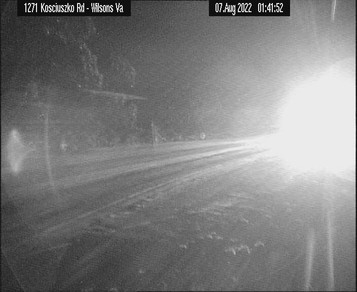 Kosciuszko Road in the Snowy Mountains, NSW