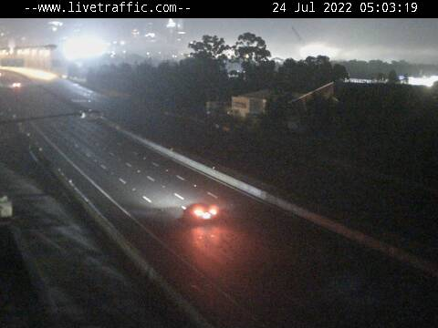 Webcam at M4 Western Motorway at Auburn Auburn