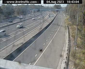 M4 Western Motorway Olympic Park, NSW