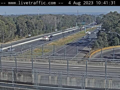 M4 Western Motorway St Clair