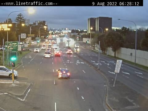 Webcam at Marsh Street at West Botany Street Arncliffe