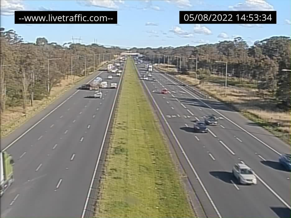 Webcam at Junction of M5 and M7 Casula