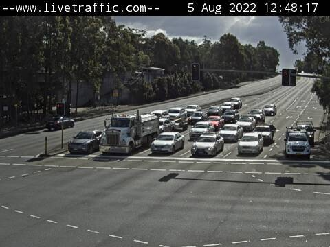 Webcam at Old Windsor Road at Abbott Road Winston Hills