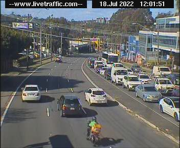 Parramatta Road at Liverpool Road