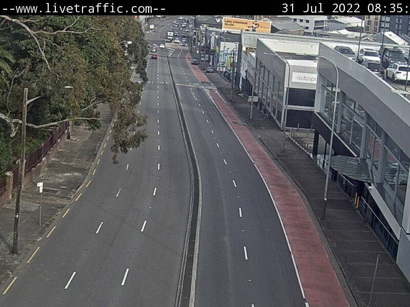 Webcam at Parramatta Road at Elswick Street Leichhardt