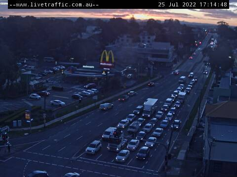 Webcam at Parramatta Road at Silverwater Road Silverwater