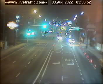 Webcam at Parramatta Road at Leicester Avenue Strathfield