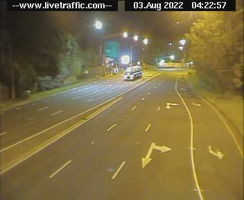 Pennant Hills Road at Beecroft Road