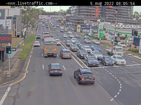 Webcam at Pennant Hills Road at The Comenarra Parkway Thornleigh