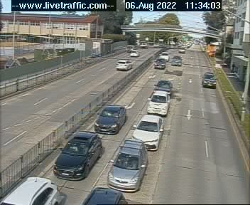 Webcam at Princes Highway at President Avenue Kogarah