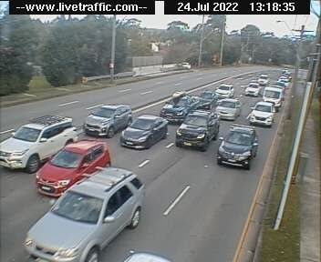 Princes Highway at President Avenue